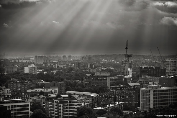Elephant and Castle - South London area by photoion