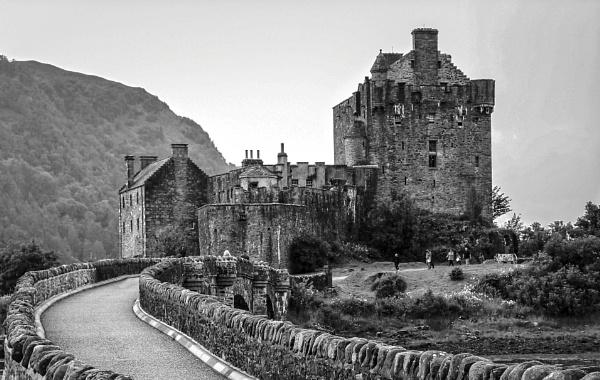 The Bridge to Eilean Donan Castle by DicksPics