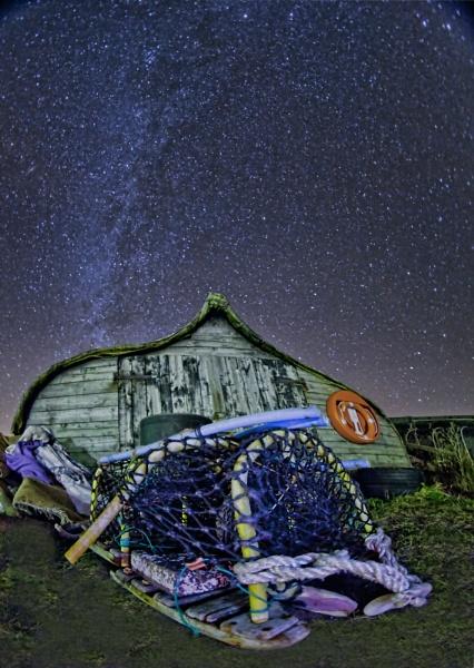 Milky Way at Lindisfarne by pink