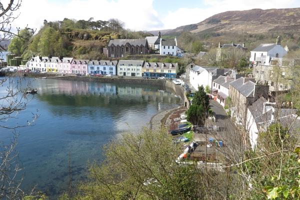 Portree Isle of Skye by ianto
