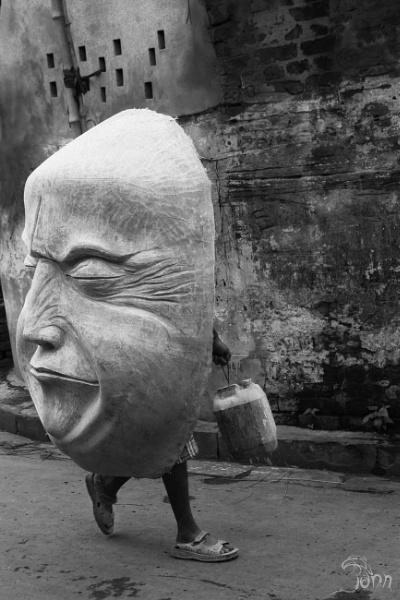 Big Mask by pankaj_dutta