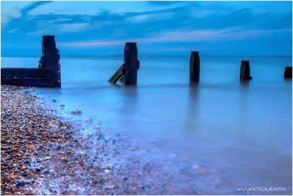 Serene Sheerness Silvery Shingle Shoreline by NDODS