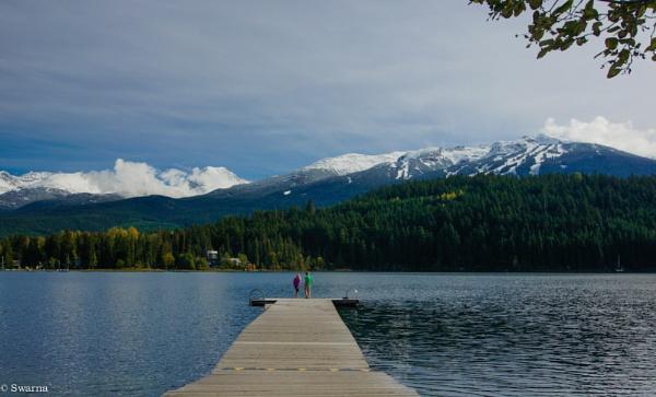 Two of Us... Alta Lake, BC by Swarnadip