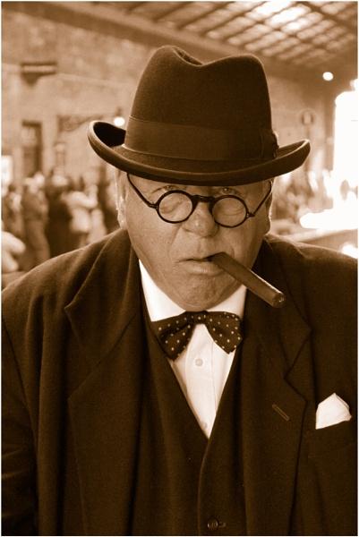 Mr Churchill by Fefe