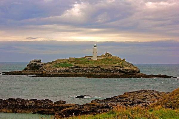 Godrivy Lighthouse by JuBarney