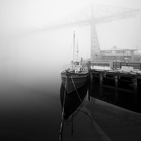 Transporter Bridge by Bevlad