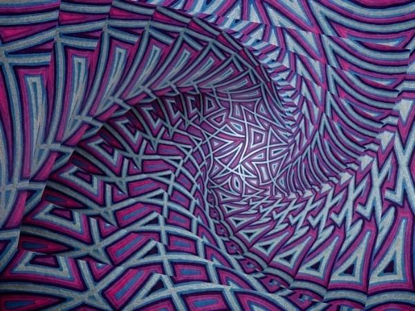 3D Stairway to Infinity by sakisuki