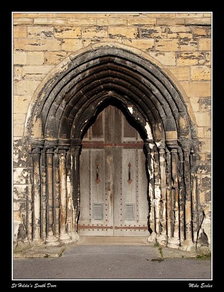 St Hilda\'s South Door by oldgreyheron