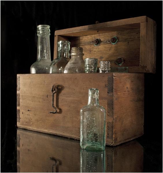 Bottles in a box