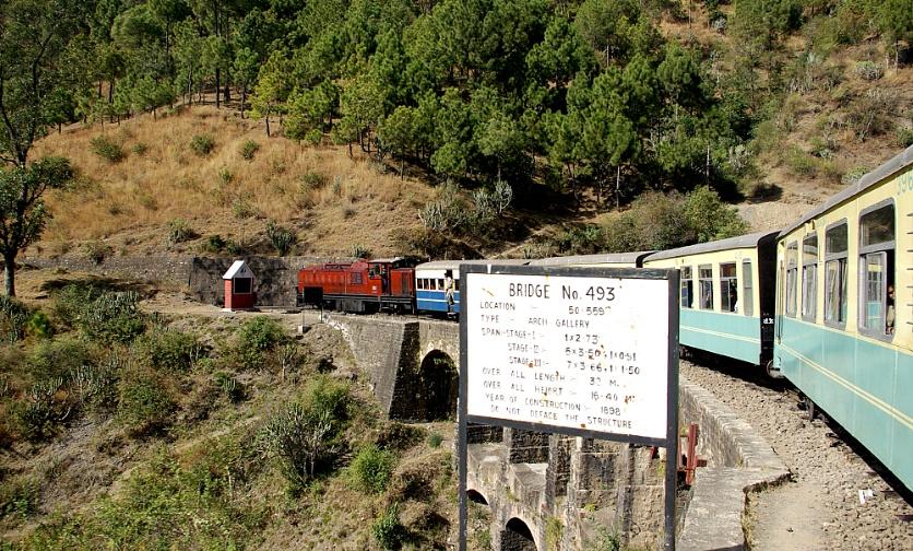 Bridge No 493, Toy Train