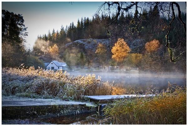 Misty Loch Ard by braddy