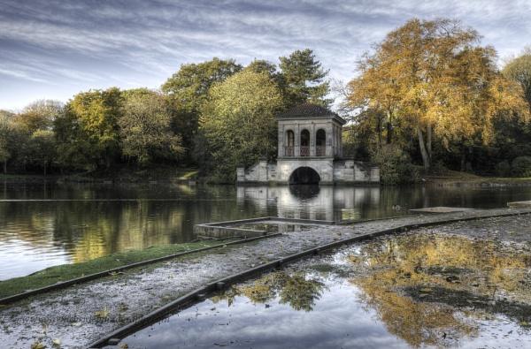 "\""Reflections Warm Golden Autumn Colours\"" (Birkenhead Park) by razorraymac"