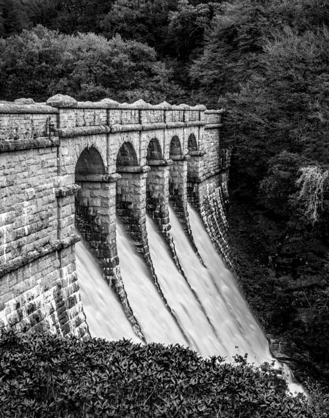 Burrator Reservoir Overflow by topsyrm