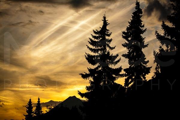 Austrian Sunset by ade_mcfade