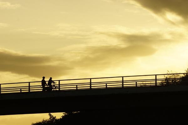 crossing the bridge by sirhcelah100