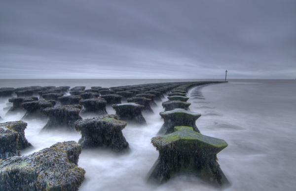 Sea Defences, Felixstowe by Laurencep75