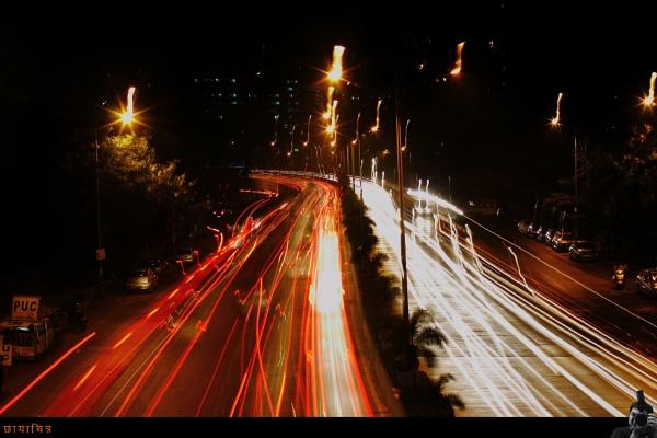 Evening Traffic Rush by Abhinow