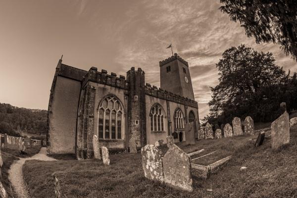 Stoke Gabriel Church by aj14