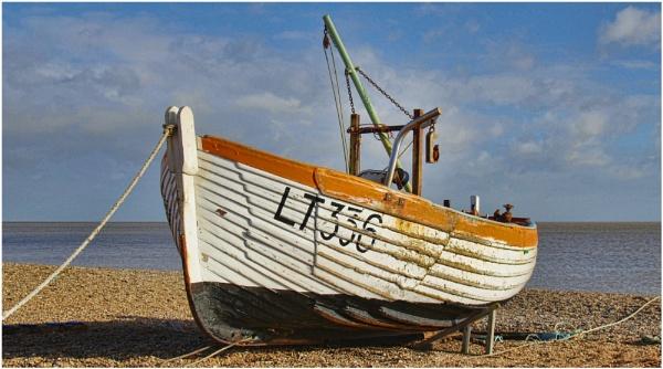 Aldeburgh fishing boat 1 by malleader