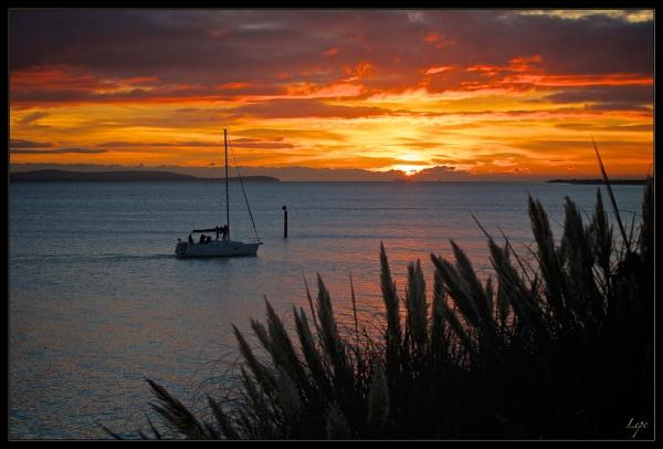 Lepe Sunset by mjparmy