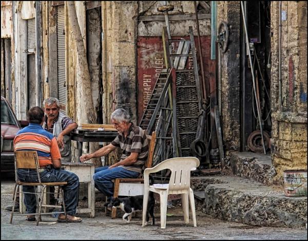A slice of life, Nicosia, Cyprus