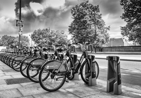 Boris Bikes by Fairlight13