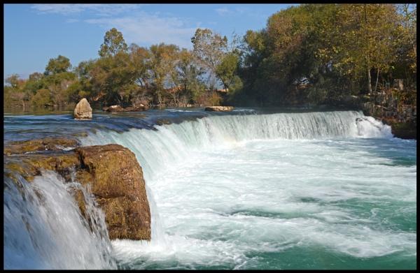 Manavgat Falls by WeeGeordieLass