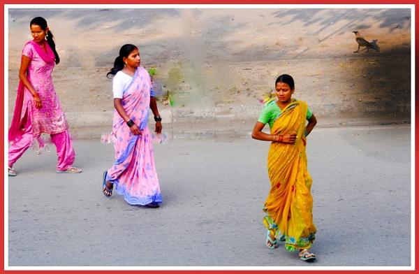 Three Ladies. by S_Psharma