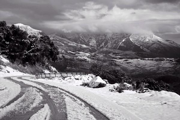 Malaga snow! by Footski