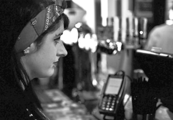Girl at the bar by SiHunt_GrafficSnapZ