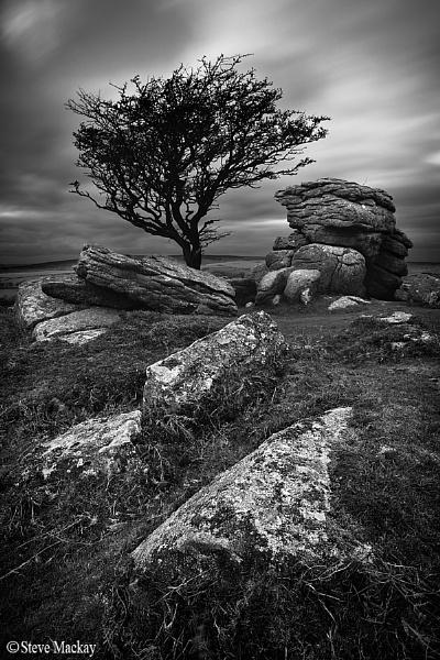 Saddle Tor, Dartmoor by SteveMackay