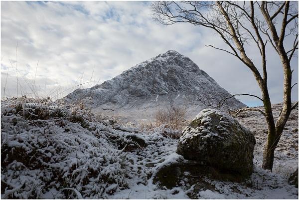 Buachaille Boulder... by Scottishlandscapes