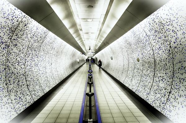 London Tube Tunnel by bobbinio