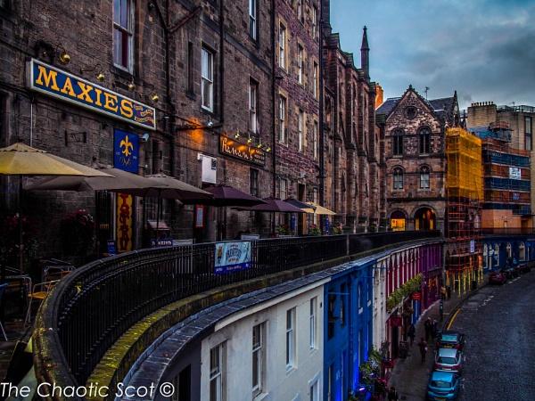 Victoria Terrace, Edinburgh by TheChaoticScot