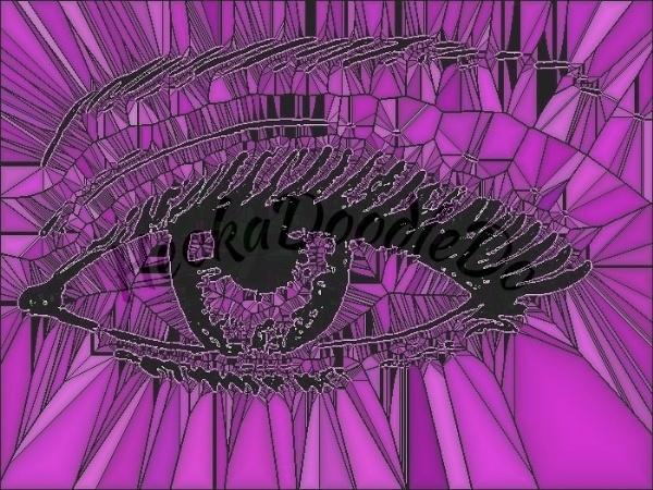 Purple Eye by sakisuki