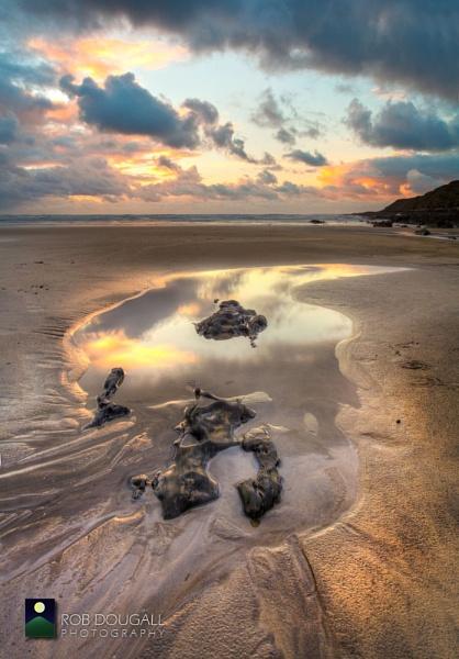 November on Saunton Sands by RobDougall