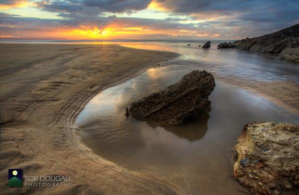 Saunton Sands in November III by RobDougall