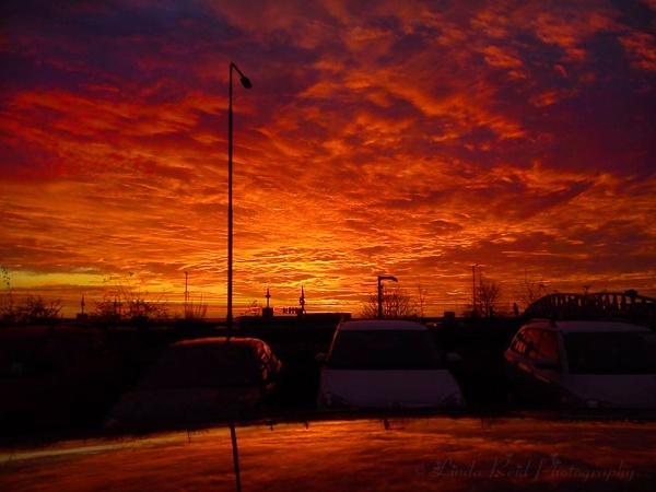sunset by linda68