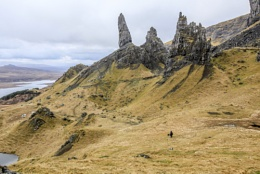 The Old man of Storr on Skye