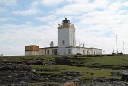 Eashaness lighthouse, Shetland.