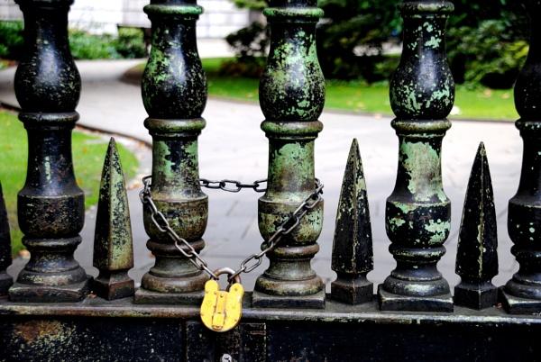 Why the lock? by Chinga