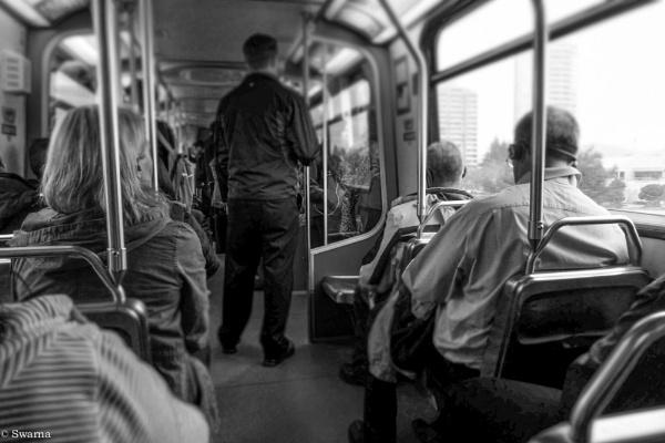 Commuters by Swarnadip