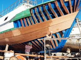 repairing a ship