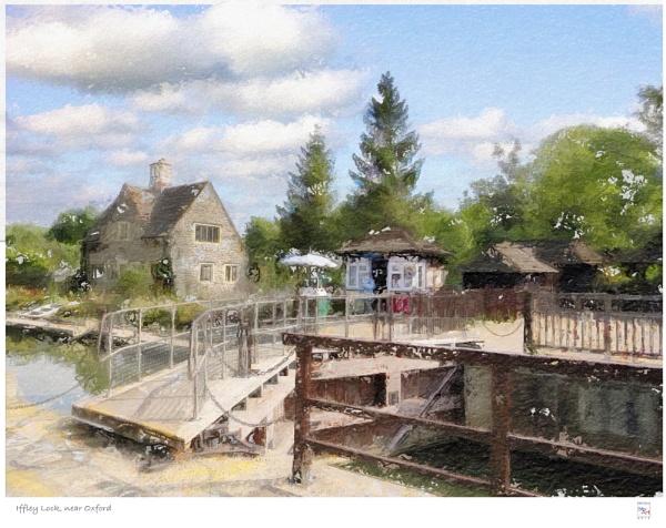 Iffley Lock, near Oxford by Stuart1956