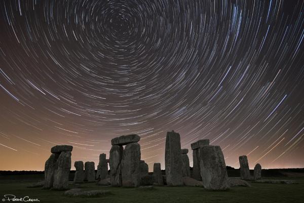 Stonehenge Star Trails V2 by St1nkyPete