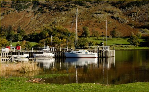 Boats at Glenridding. by myrab