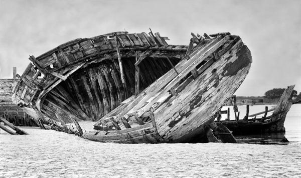Boneyard by the Sea by SandraKay
