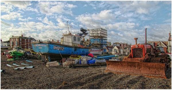 Aldeburgh fishing boat 5 by malleader