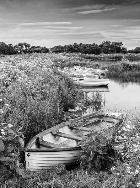 Boats, Loch Watten by Mstphoto