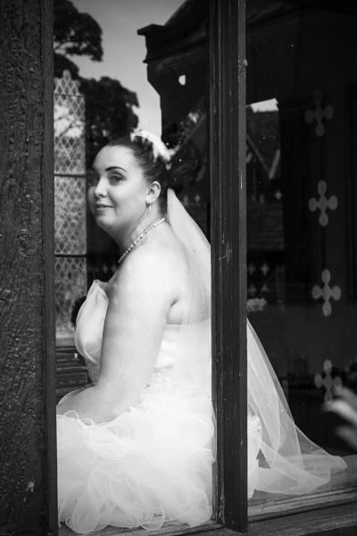Bride Looks on by DJLeroy